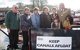 Canals Protest