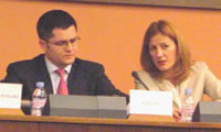 The Serbian Foreign Minister, Jeremic