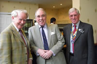 With Lytham Rotarians