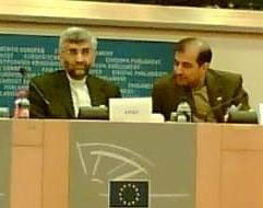 Saeed Jalili, Chief Iranian Nuclear Negotiator and Secretary of the Supreme National Security Council of Iran, who was robustly questioned by Sir Robert when he attended the Foreign Affairs Committee of the European Parliament