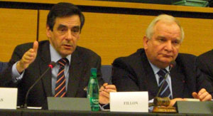 French Prime Minister Fillon at the EPP-ED Group Meeting