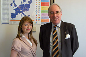 Katy Roberts from Barrowford, who worked in my office for a week