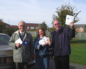 Campaigning in the Sandbach By-Election (Congleton - Tory Gain!)