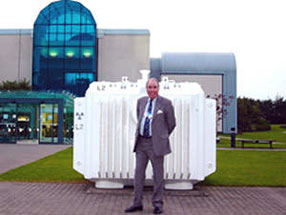 Sir Robert at BNFL Sellafield